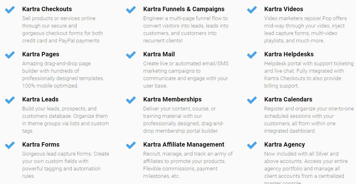 Kartra is the best Funnel builder software