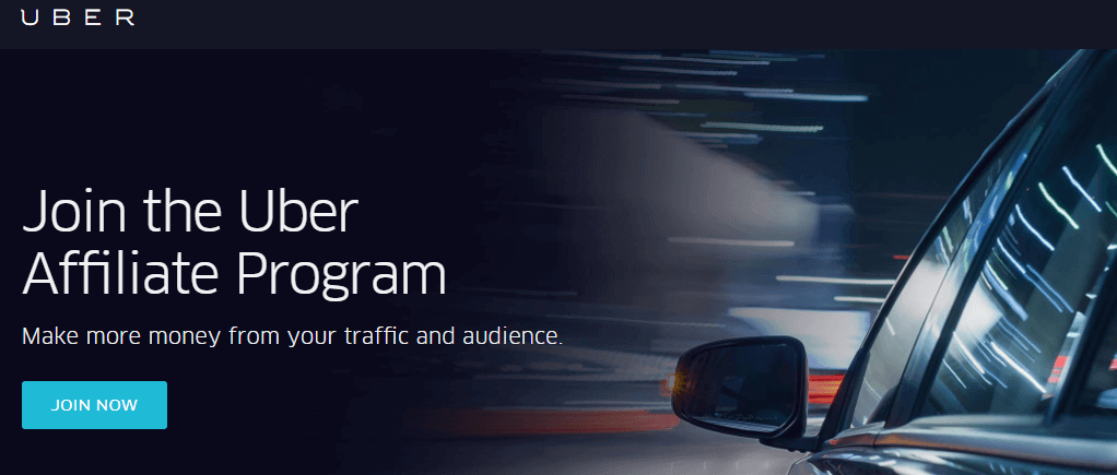 How to join Uber affiliate program