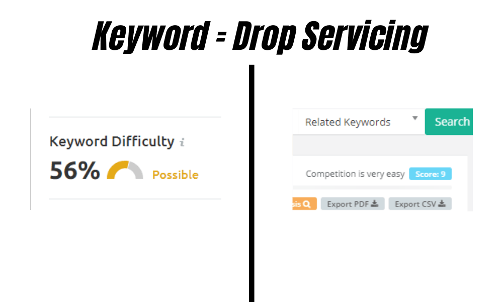 SEMrush vs KeySearch keyword difficulty comparison