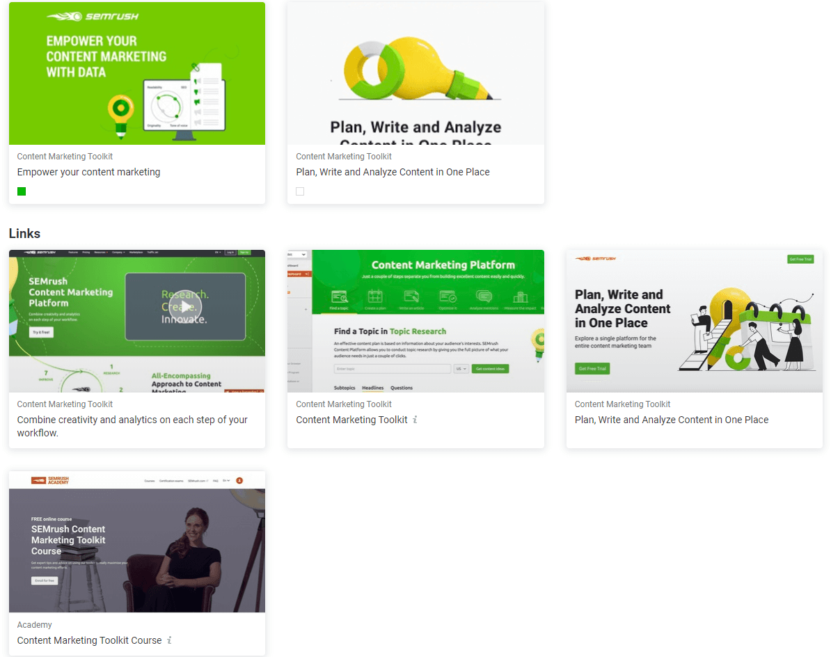 SEMrush affiliate program review content toolkit